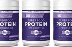 Probiotic-Packed Protein Supplements - Health Warrior Chocolate Superfood Protein Powder is Tasty