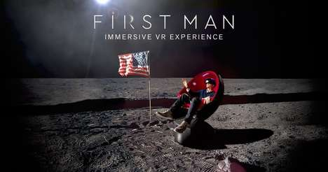 VR Space Experiences - A VR Moon-Inspired Experience Will be Available at Select AMC Theaters