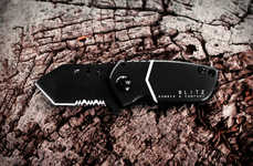 Aircraft-Inspired Pocket Knives - The B-2 Blitz Pocket Knife is an Incredibly Compact Blade
