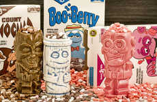 Cereal Monster-Inspired Tiki Mugs