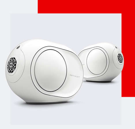 Futuristic Distortion-Free Speakers