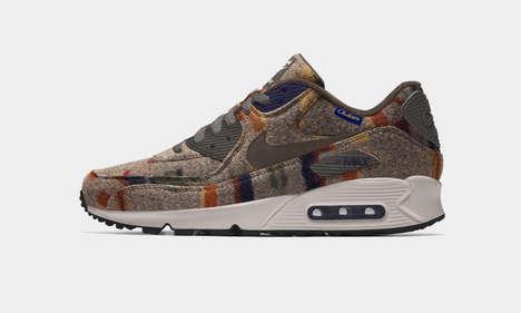 Cozy Woolen Collaboration Sneakers