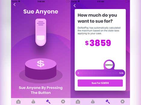 Auto-Suing Chatbots
