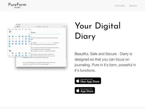 Minimalistic Journaling Platforms