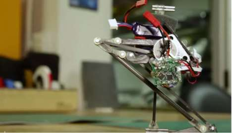 Precise Jumping Robots