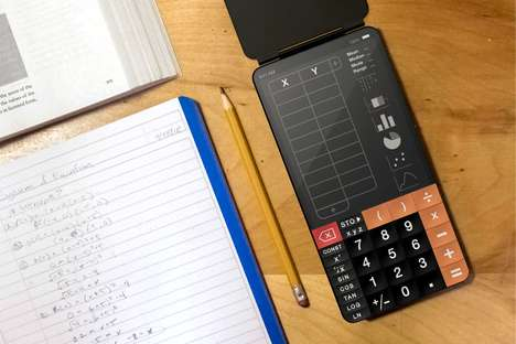 Advanced Smartphone-Inspired Calculators - The Conceptual 'TouchCal' Revamps the Essential Tool