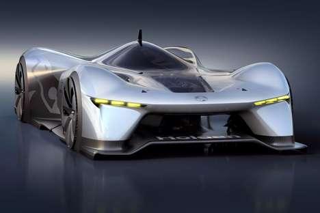 Road-Hugging Supercar Concepts