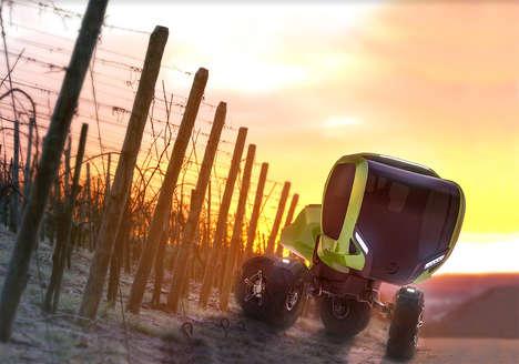 Shapeshifting Vineyard Vehicles
