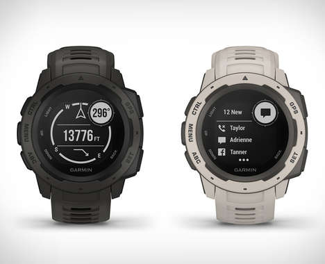 Rugged Military Grade Smartwatches