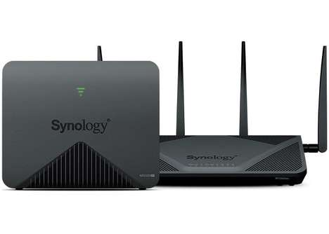 Granular Configuration Business Routers - The Synology MR2200ac Router Boasts a Quad-Core CPU