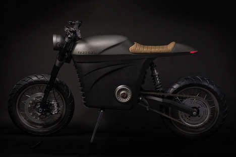 Sustainable Urban Motorcycles - The Tarform All-Electric Motorcycle Offers 90 Miles of Range