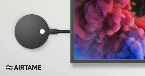 High-Tech Screen-Sharing Devices - Airtame 2 Fuses Design & Function for a Seamless Experience