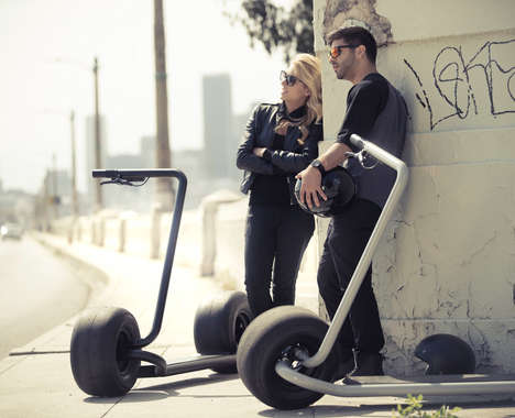 Self-Balancing Eco-Friendly Scooters