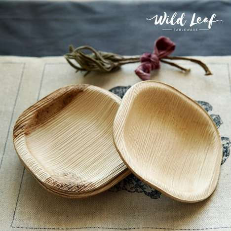 Compostable Tableware Sets - Wild Leaf Offers Consumers a Sustainable Option for Dining at Events