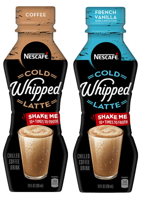 Ready-to-Drink Whipped Lattes