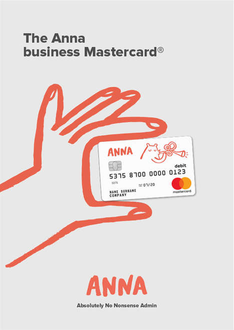 Design-Forward Banking Services - Anna Wants to Take the Hassle Out of Banking for Creatives