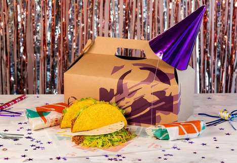Fast Food Party Packs - Taco Bell Party Packs Offer an Easy Solution for Evenings In & Entertaining