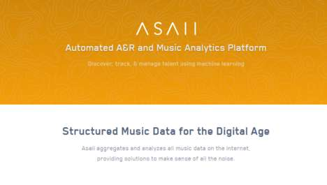 Artist-Discovering AI - Asaii Helps A&R Reps Track the Next Big Musicians