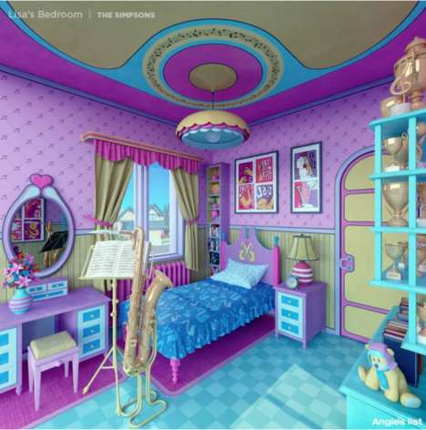 Character-Inspired Iconic Bedroom Designs - Angie's List Features Six Inspirational Kids' Rooms