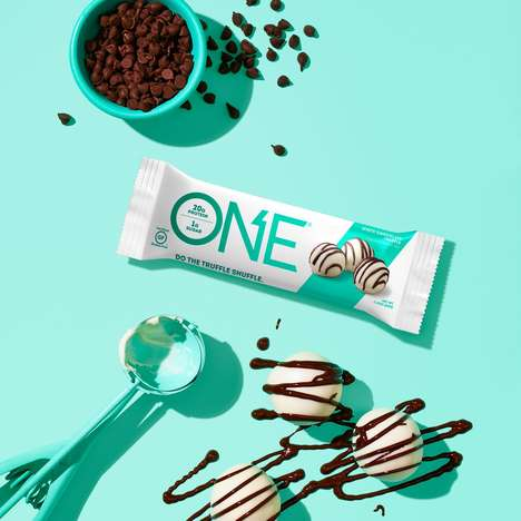 Indulgent Truffle Protein Bars - ONE Brands' White Chocolate Truffle is a Dessert-Inspired Flavor