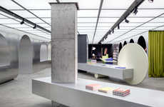 Sleek Design-Forward Bookstore Interior