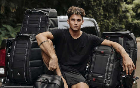 Influencer-Approved Luggage Lines - The Douchebags x Jay Alvarez Collection is Ready for Adventure