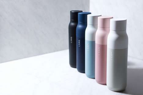 Self-Cleaning Water Bottles - The LARQ Bottle is Designed to Purify Its Contents and Clean Itself