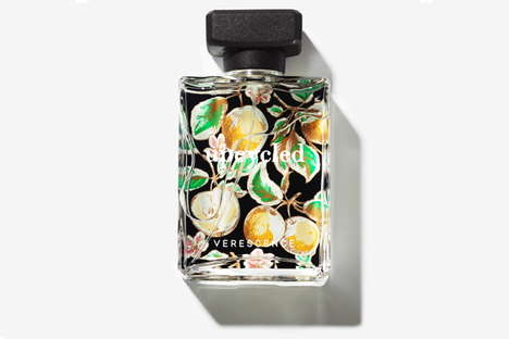 Upcycled Perfume Packaging