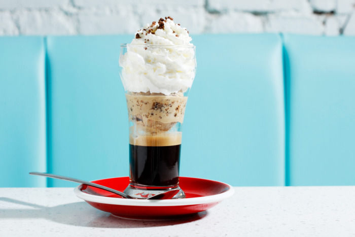 Ice Cream Coffee Shops