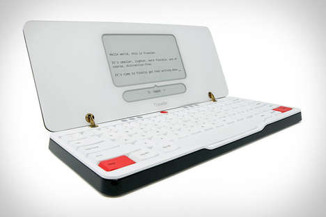 Distraction-Free Writing Tools - The Traveler Portable Keeps Writers on Task and Working Hard