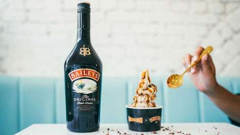 Boozy Ice Cream Sundaes