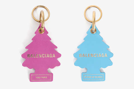 Luxurious Air Fresheners - Balenciaga Introduced a New Set of Premium Keychains