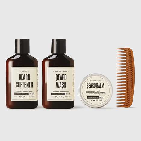 Mediterranean Natural Grooming Products - Maapilim Boasts a Selection of Grooming Essentials for Men