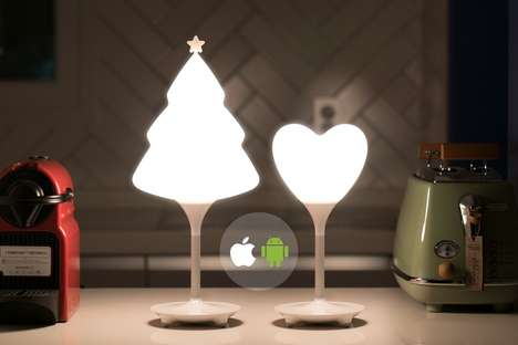 Connected Christmas Illuminators - The 'SNO' Light Lets Users Customize the Functionality