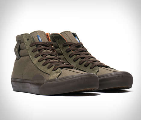 Earthy Military Inspired Sneakers - The Vans Vault x Taka Hayashi Collection is Stylishly Functional