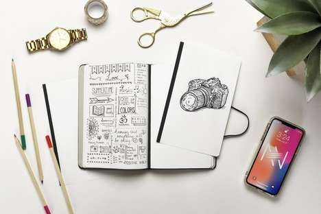 Removable Leaf Notebooks - The Reckonect Magnetic Notebook Can be Taken Apart as Desired