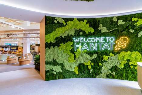 Cashierless Robotic Stores - The Habitat Concept Store Combines Shopping With Autonomous Robots