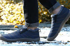 Slipper-Inspired Outdoor Footwear