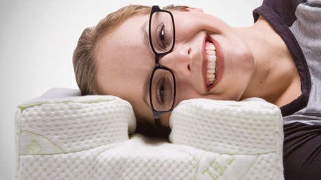 Contoured Eyewear-Accommodating Pillows