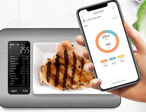 App-Connected Kitchen Scales - The Etekcity Smart Nutrition Food Scale Tracks Your Intake