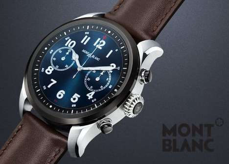 Fine Watchmaker Smartwatches - The Montblanc Summit 2 is Priced at $1,000