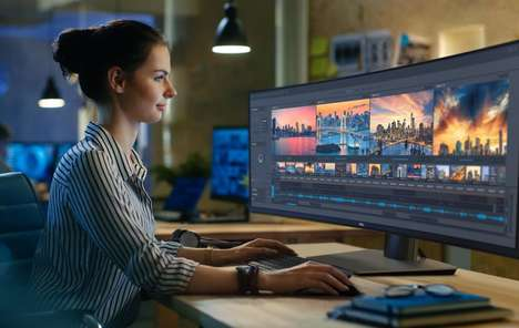 Digital Creative Desktop Displays - The 2018 Dell UltraSharp Displays Offer Precision Graphics