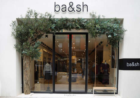 Complimentary Clothing Rentals - Ba&sh's New NYC Store Lets Shoppers Borrow Clothing for the Weekend
