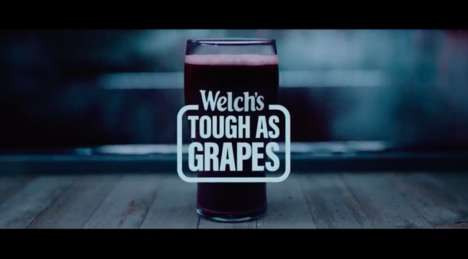 Gritty Grape Juice Campaigns - Welch's 'Tough as Grapes' Campaign Targets Gen X Men