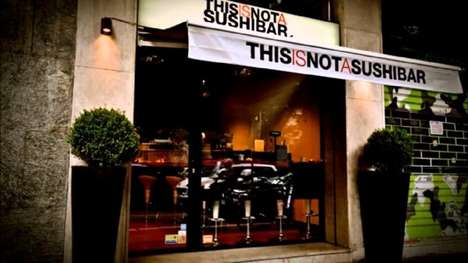 Social Media Sushi Payments - Milan's ThisIsNotaSushibar Offers Discounts Based on Follower Counts
