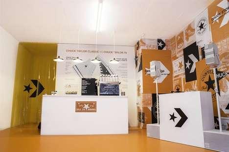 Sneaker Brand Coffee Shops