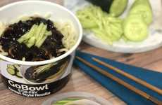 Microwaveable Noodle Bowls - Nasoya's Heat and Serve Asian Noodle Bowls Can Be Prepared in Minutes