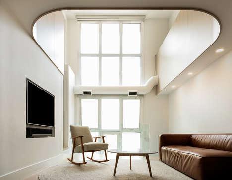Contemporary Minimalist Toronto Lofts