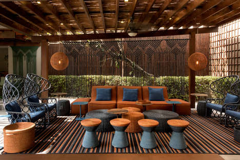 Bold Woven Outdoor Furniture