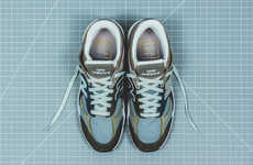 Archival Mesh Casual Sneakers